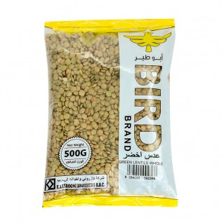 Bird Green Lentils Whole 500g
