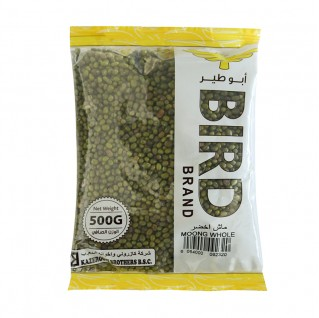Bird Green Mung Whole (Green Mash) 500g