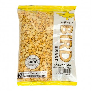 Bird Yellow Split Peas 500g
