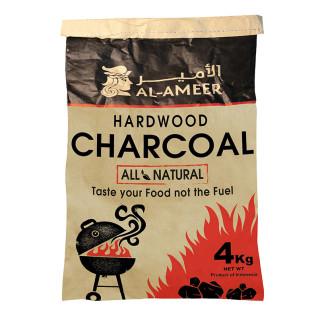 Al Ameer Hardwood Charcoal 4Kg