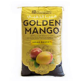Golden Mango 1121 Basmati Indian Rice 20Kg