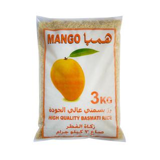 Mango Basmati Rice (Zakat al-Fitr) 3Kg