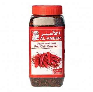 Al-Ameer Red Chili Crushed 250g